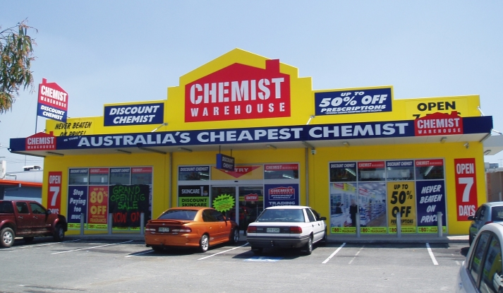 CHEMIST WAREHOUSE,  Australia's largest pharmacy retailer