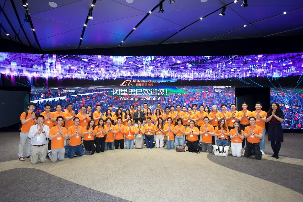 First batch of Thai Netpreneurs toured Alibaba's corporate campus in Hangzhou