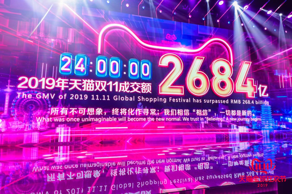 11.11 GMV Record of US$38.4 Billions
